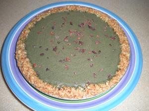Sweet Spirulina Cacao Pie