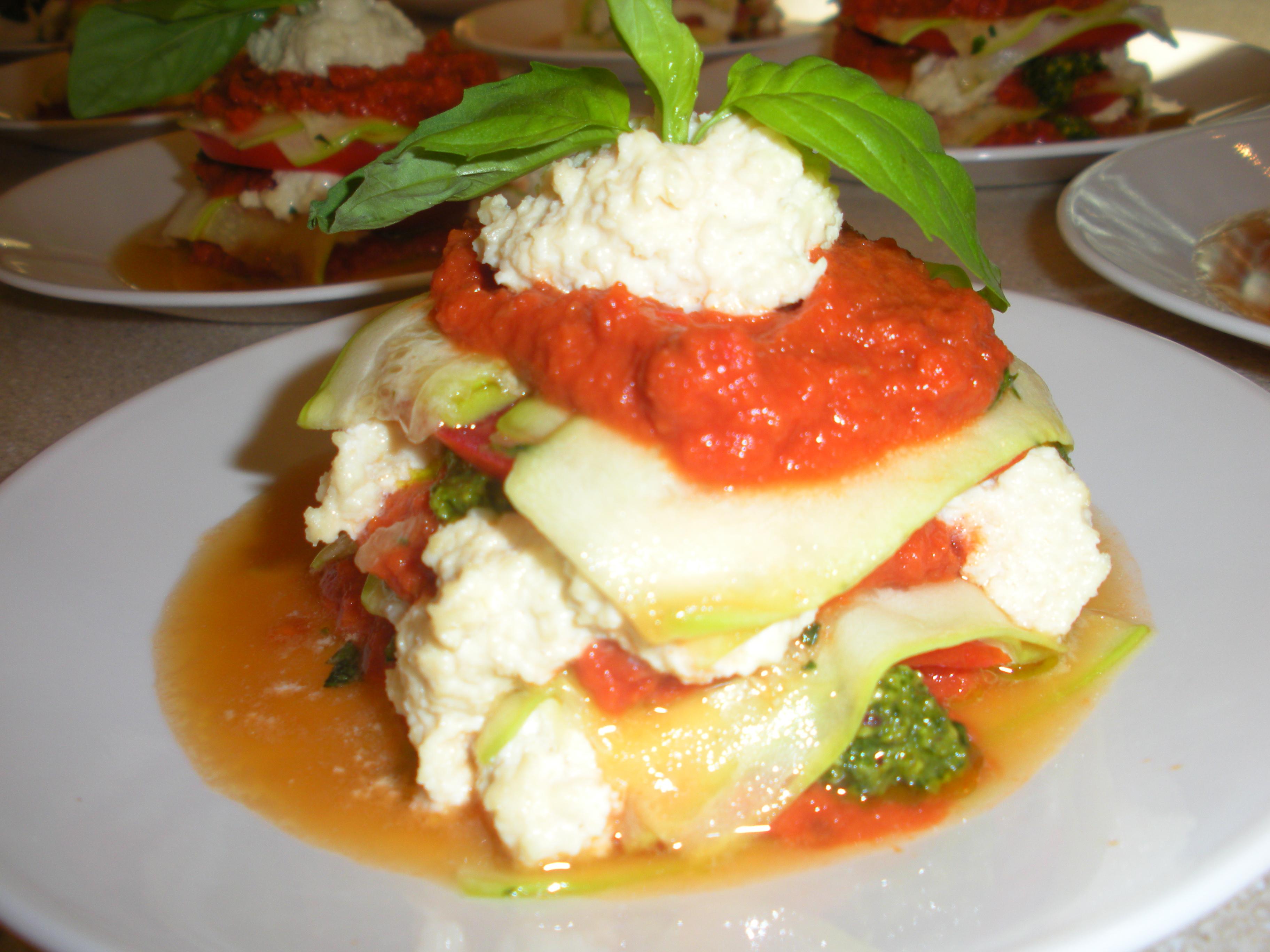 Raw Vegan Lasagna | Happy Healthy Living